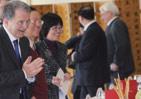 意大利前总理普罗迪——礼信年年接待用餐